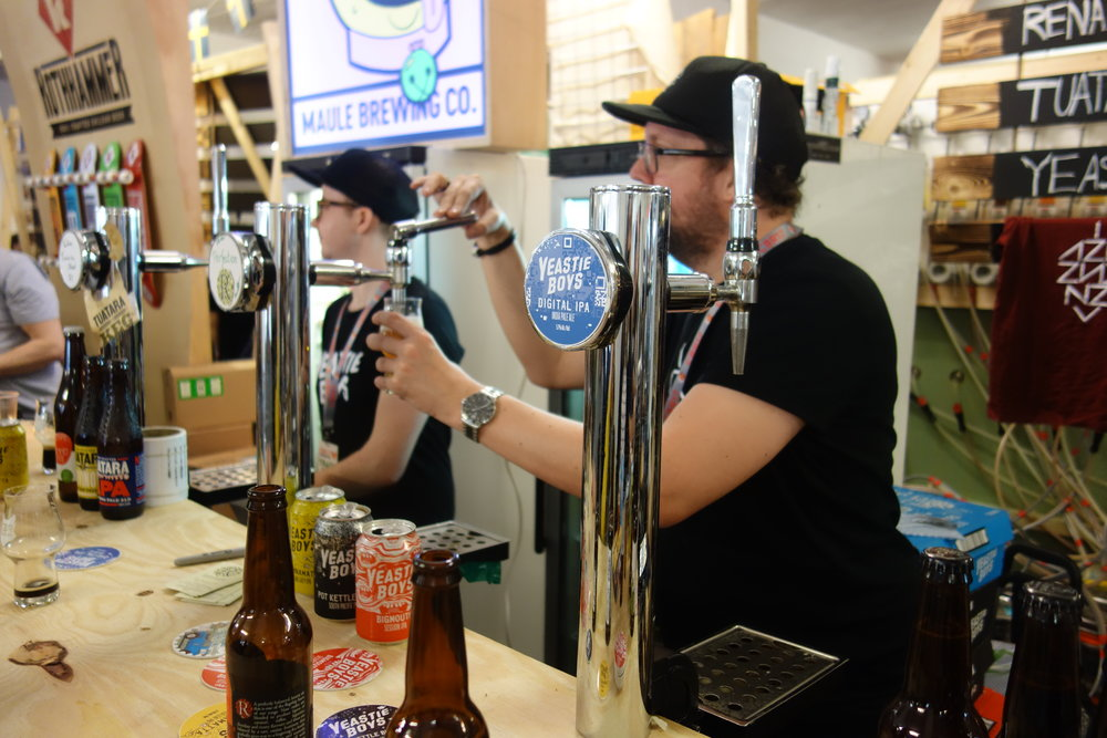 Craft Beer Rising 2017 New Zealand Beer Collective