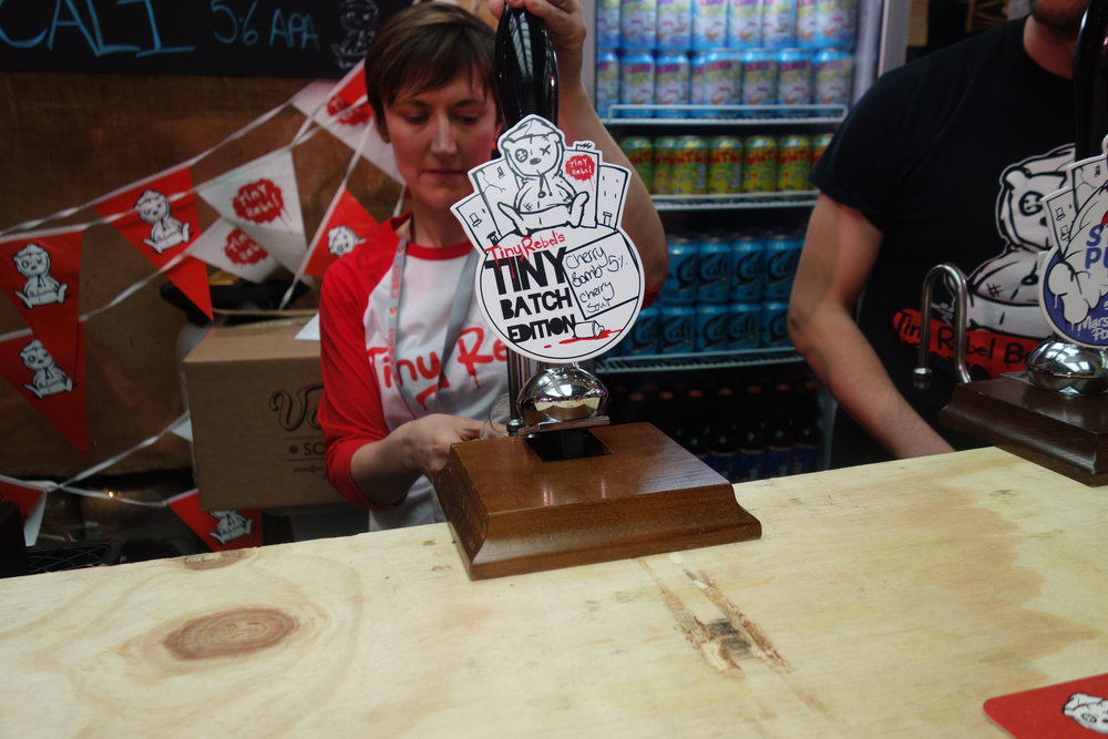 Craft Beer Rising 2017 Tiny Rebel