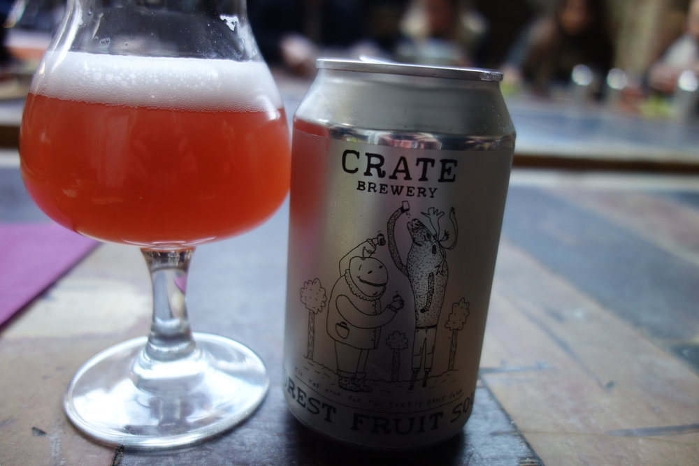 Crate Brewery Hackney Wick Sour