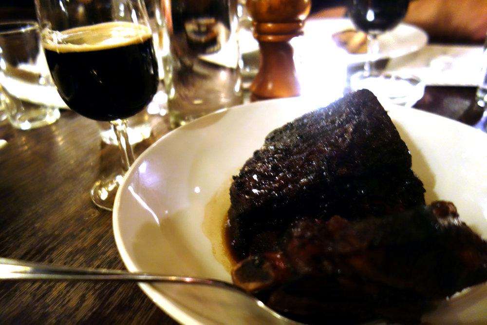 Fourpure Brewery Beagle beef ribs