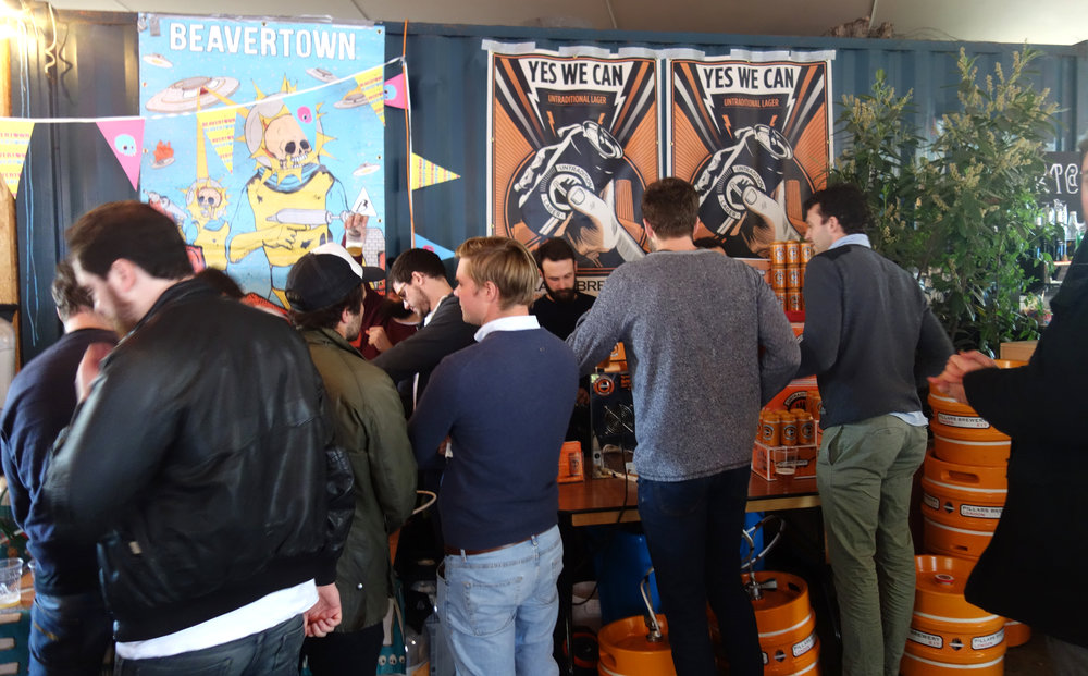 Pillars Brewery Dalston Beer Day