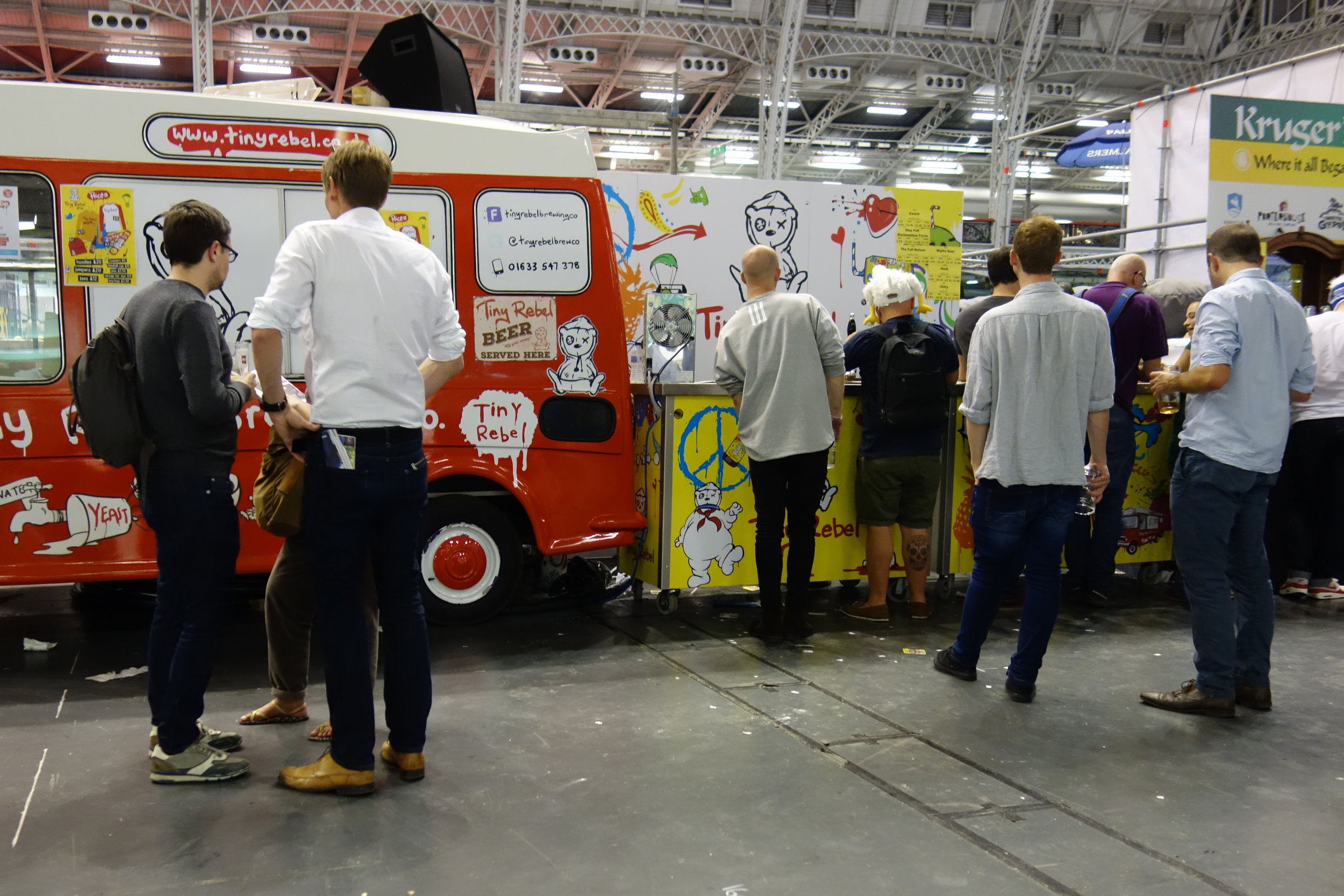 Tiny Rebel being bold at the Great British Beer Festival.
