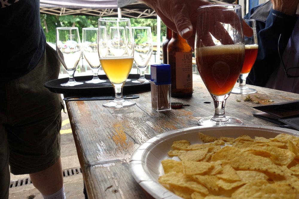 Wild Card Brewery Tasting