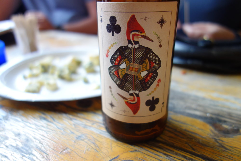 Wild Card Brewery Jack of Clubs