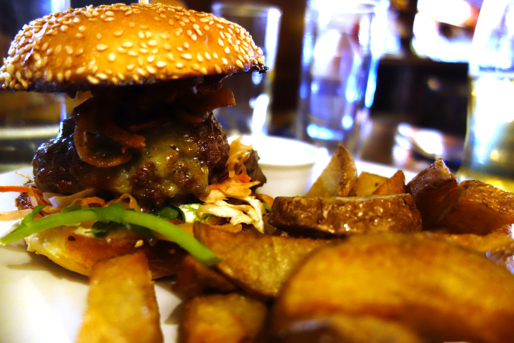 L. Mulligan Grocer Dublin Pub Boar Burger