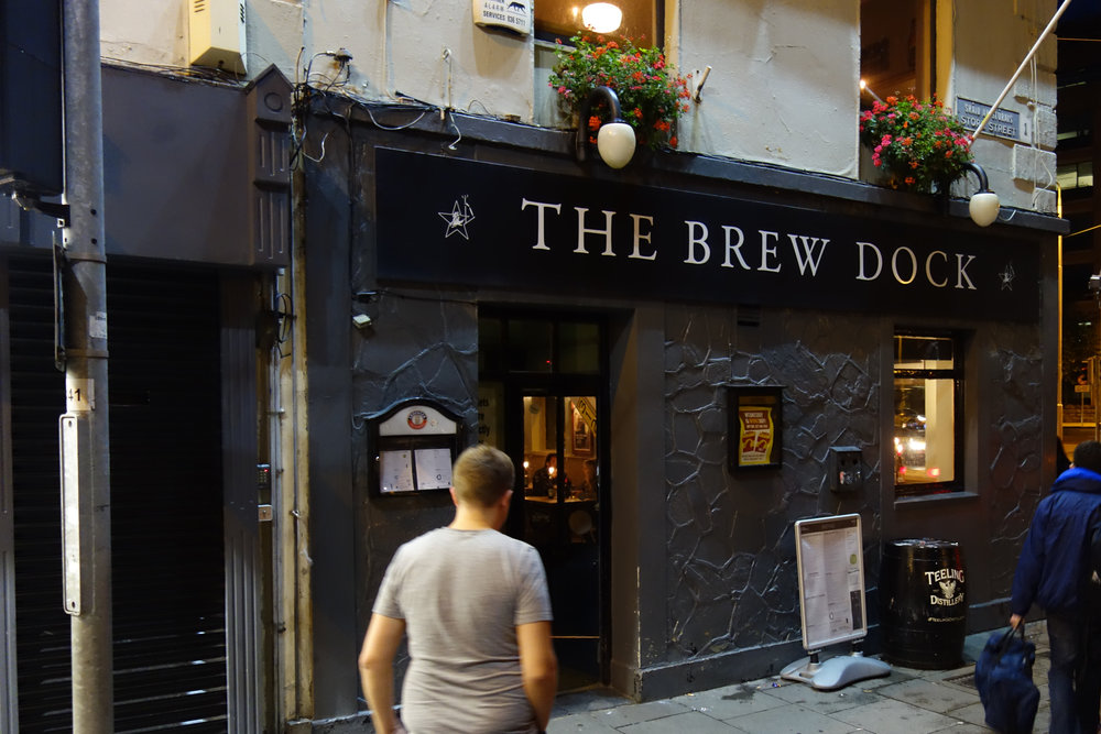 Brew Dock Pub Dublin
