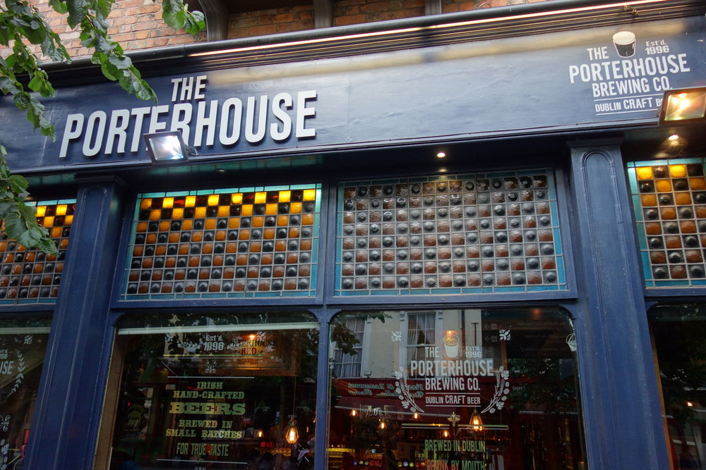 Porterhouse Pub Temple Bar Dublin