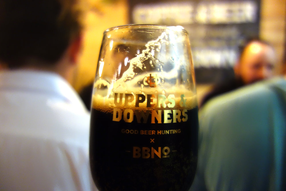 Uppers and Downers Coffee Beer