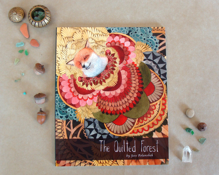 The Quilted Forest Art Book — Polanshek of the Hills : the quilted forest - Adamdwight.com