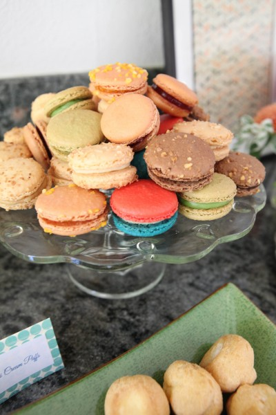 Baby Shower Recipes - French Macarons