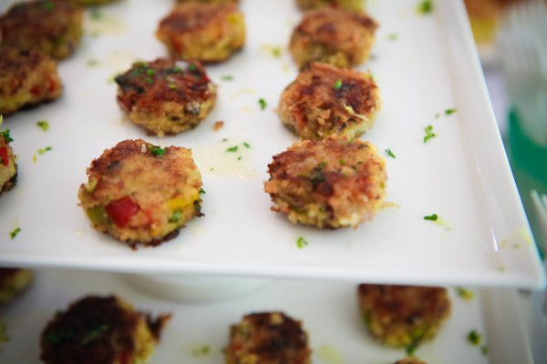 Baby shower recipes - mini crab cakes