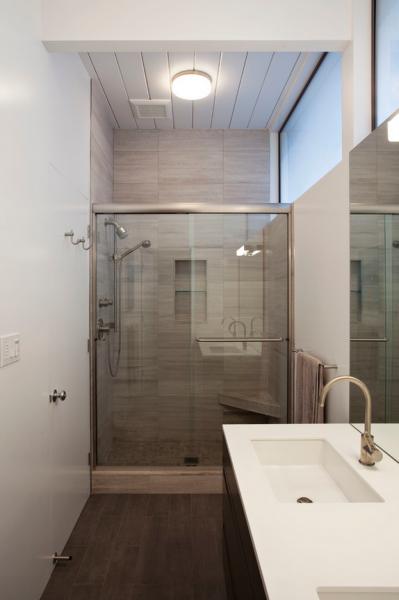 Modern Bathroom Eichler Remodel