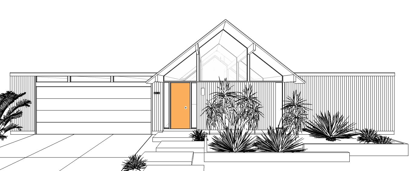 Desert Eichler - New Eichler Homes — Mid Century Modern Interior ...