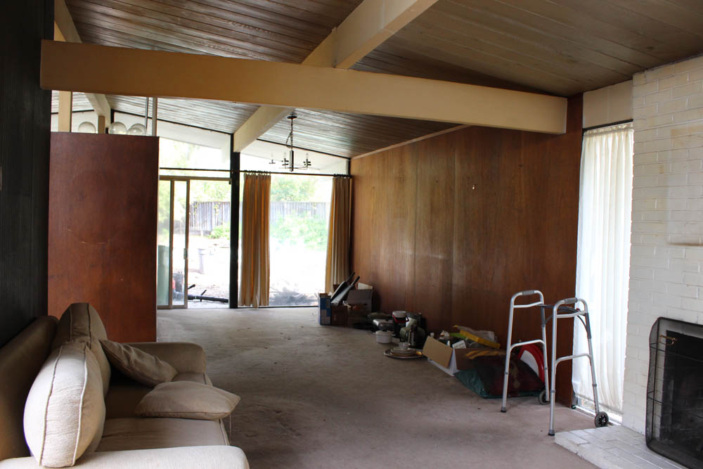 Eichler Dining Room Before
