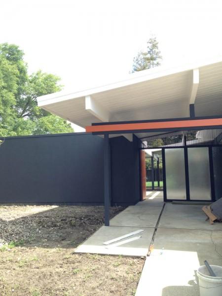 Eichler Exterior Paint