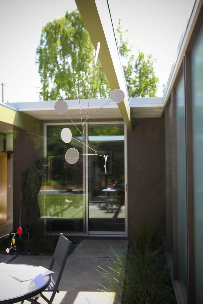 San mateo highlands eichler home tour 2014 open kitchen mid century modern interior designer portfolio