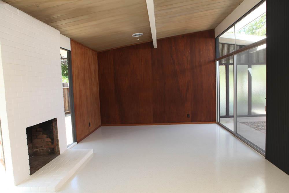Modern wood panel ideas mid century modern interior - Wood paneling ideas modern ...