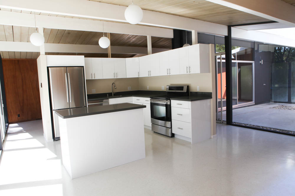 Modern Eichler Kitchen Renovation