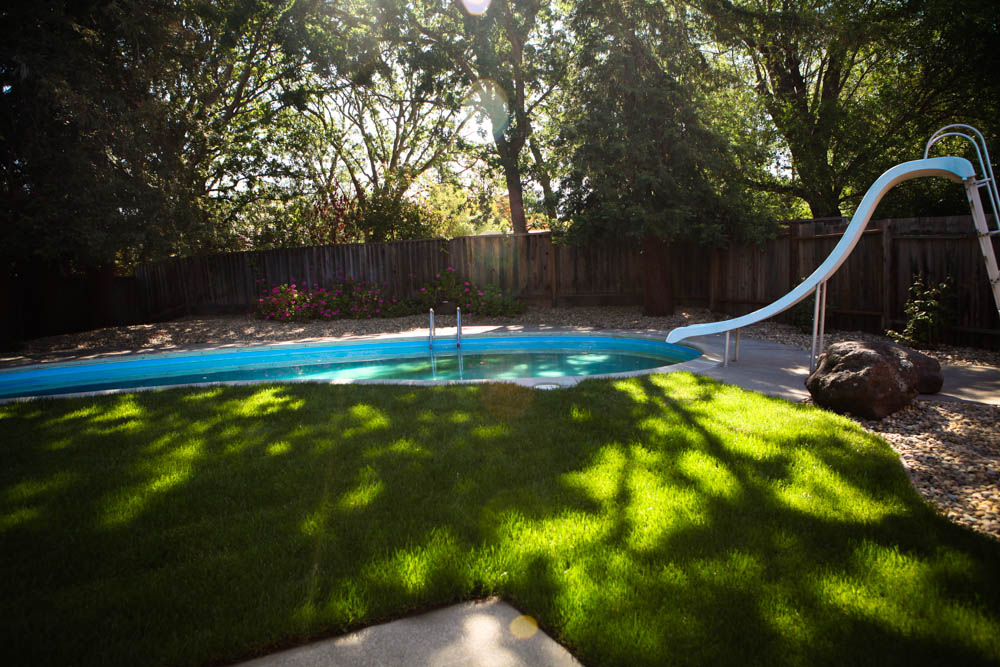 Midcentury Modern Backyard