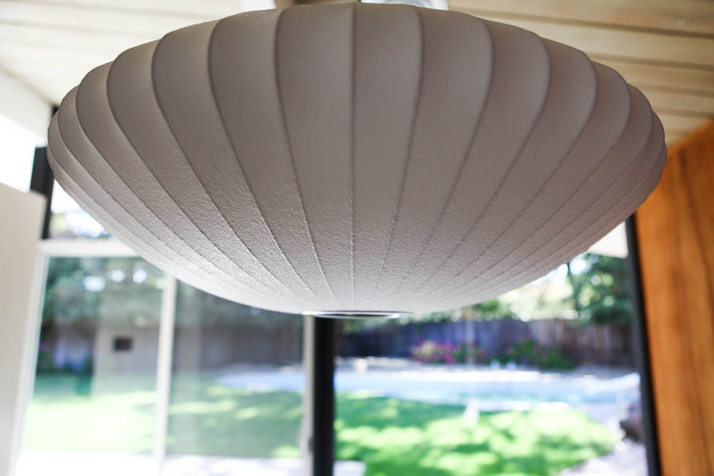 Nelson Bubble Suacer Lamp