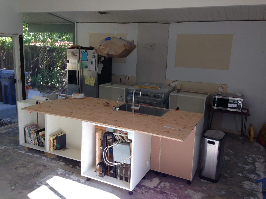 Eichler Kitchen Renovation - Ikea Cabinets