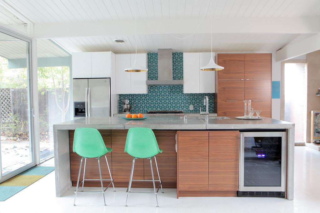 Eichler Kitchen Remodel - The Final Reveal — Mid Century Modern ...