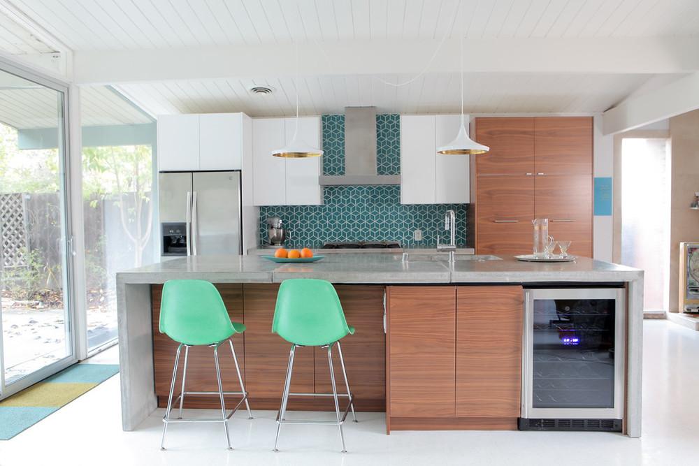 Perfect DIY Concrete Countertops U2014 Mid Century Modern Interior Designer   Portfolio