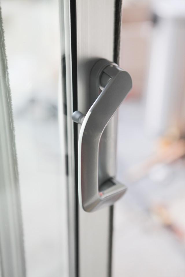 eichler-sliding-door-milgard-handle & Eichler Sliding Doors: Replacing Patio Doors \u2014 Mid Century Modern ...