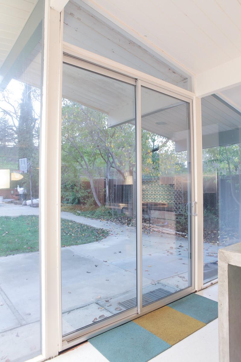 Eichler Sliding Doors Replacing Patio Doors Mid Century Modern