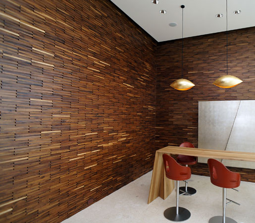 6 Modern Wood Walls That Will Inspire Our Next Project