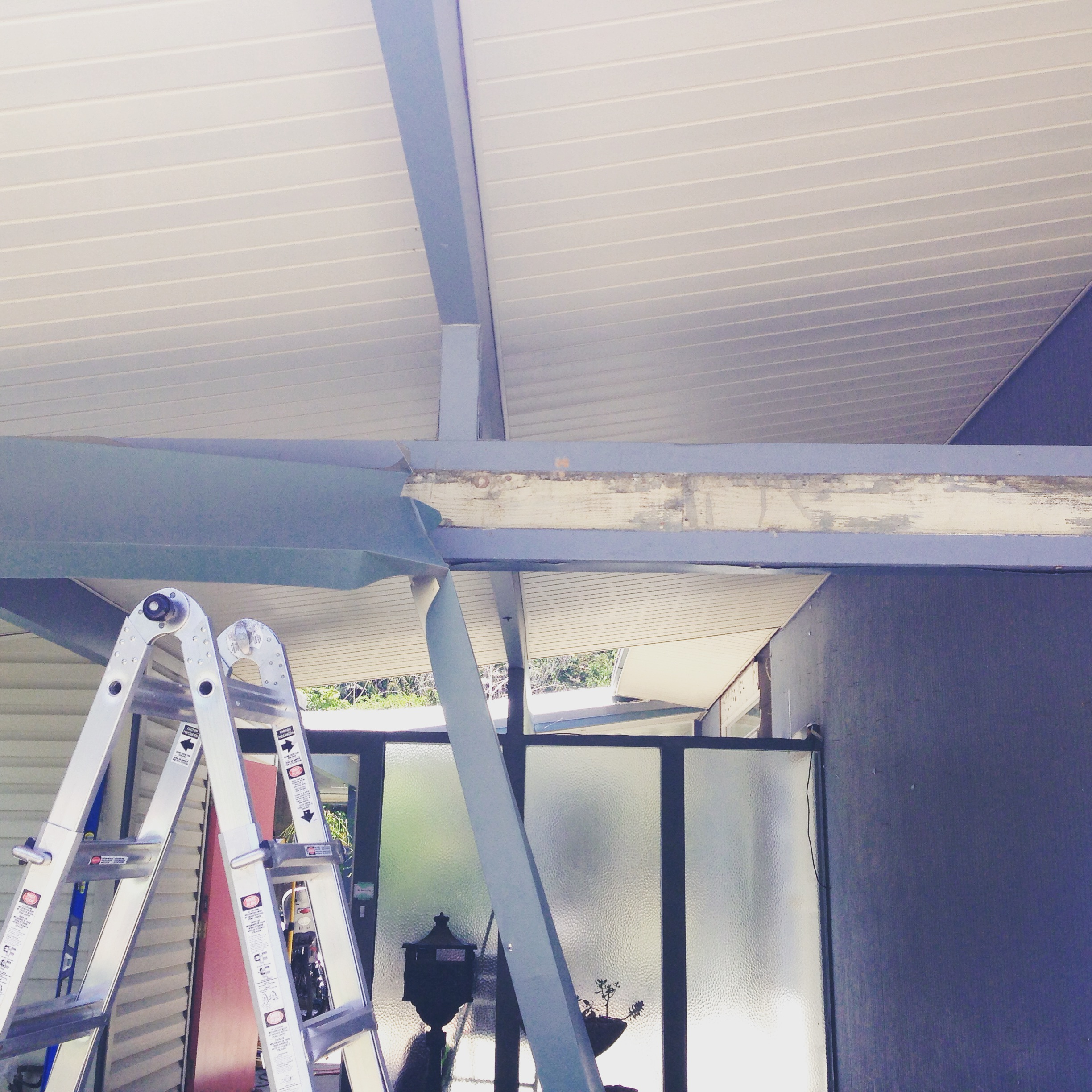 Eichler Siding Reveal