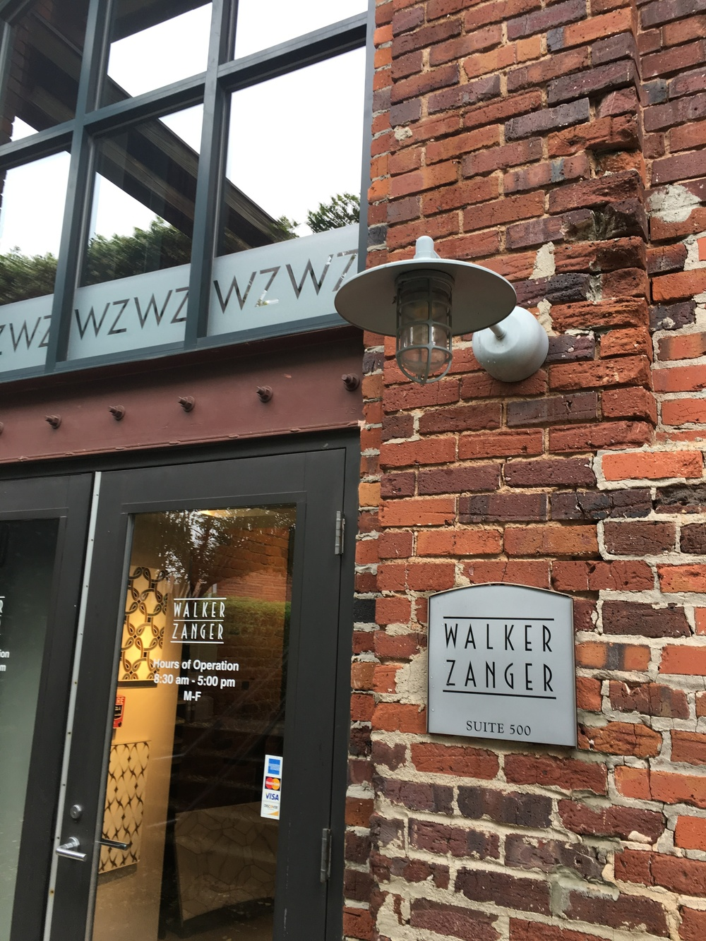Walker Zanger Showroom