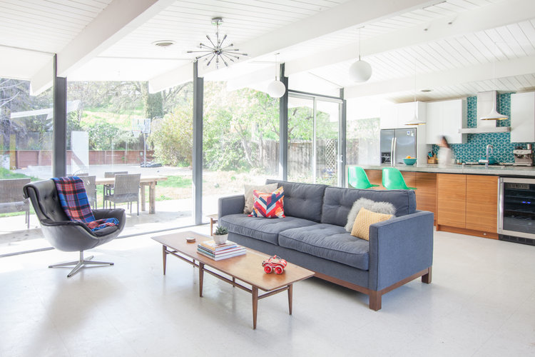Walnut Creek Interior Designers — Mid Century Modern Interior ...