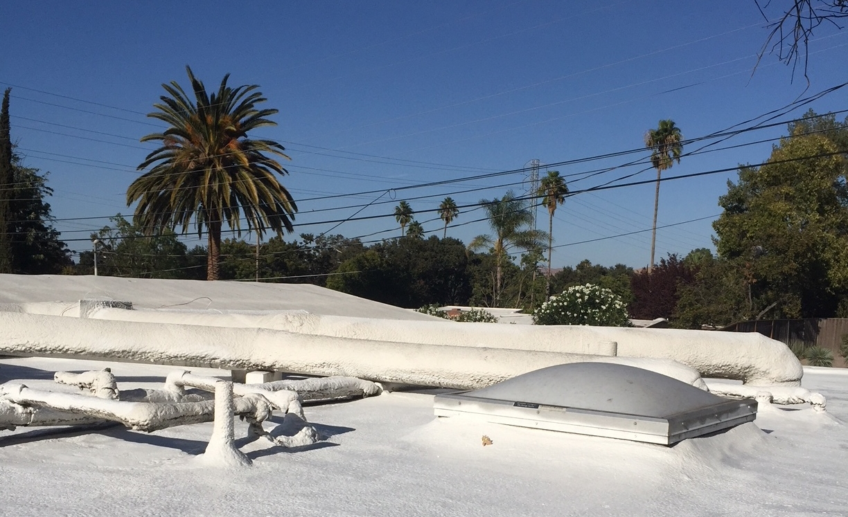 How To Recoat Your Eichler Foam Roof in a Weekend: DIY Foam Roof
