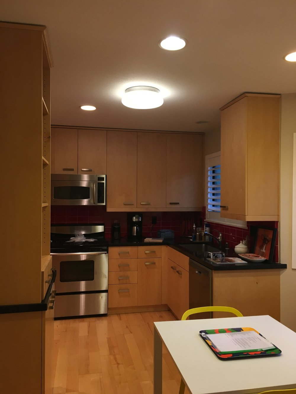 After A Few Changes Were Made Throughout The House (including Installation  Of New Hardwood ...