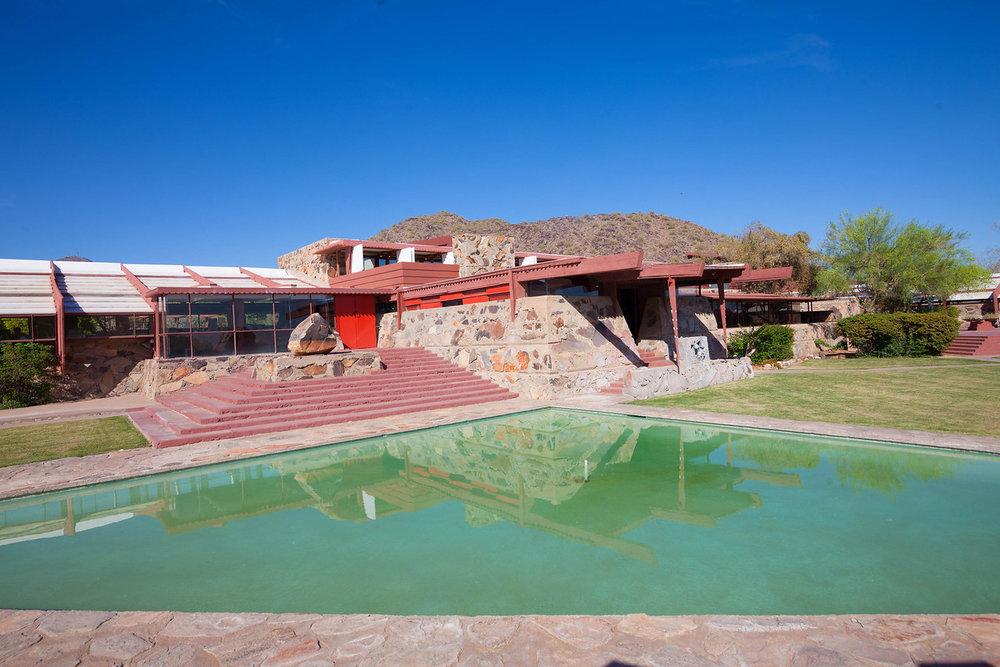 Frank Lloyd Wright's Desert Laboratory