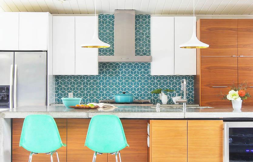Kitchen Backsplash Ideas — Mid Century Modern Interior ...