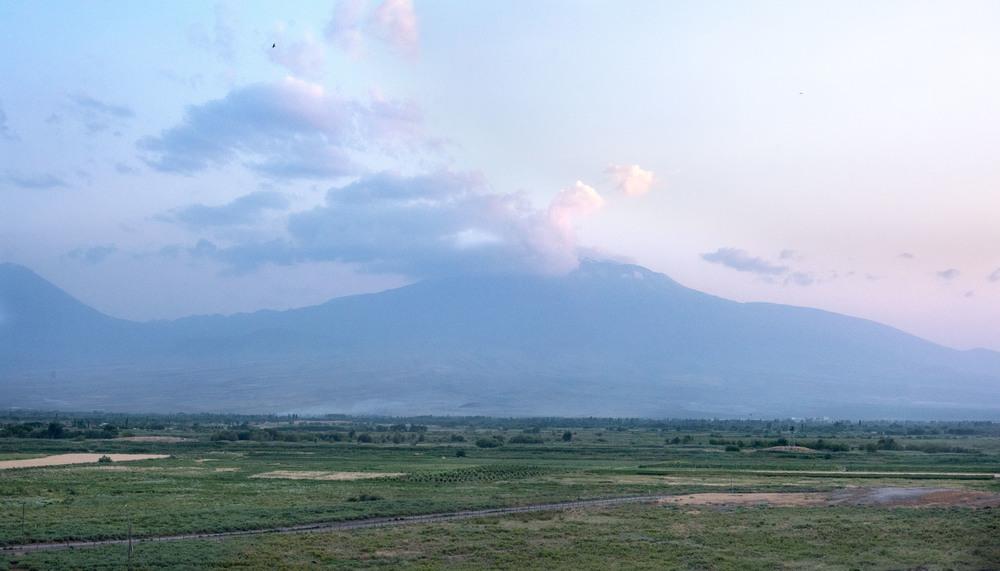 Sunset over Mt. Ararat