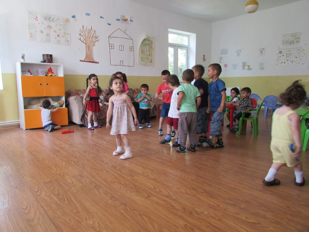 Children dancing at the kindergarten. Photo courtesy of Hexine Gharabaghtsyan