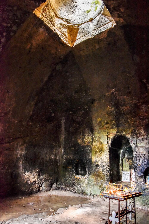 Interior of main chapel