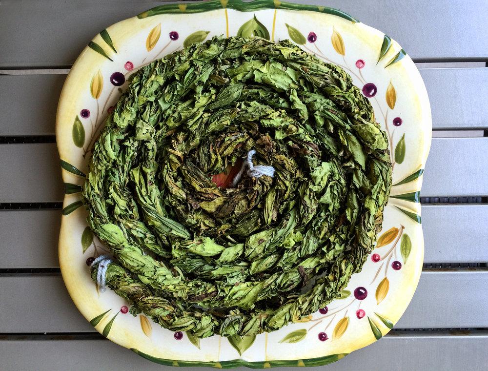 Dried Sorrel (Aveluk) Wreath