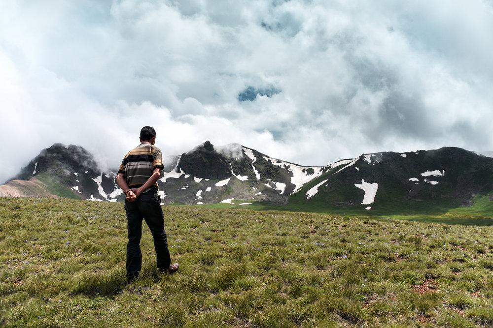Hiking with Valeri