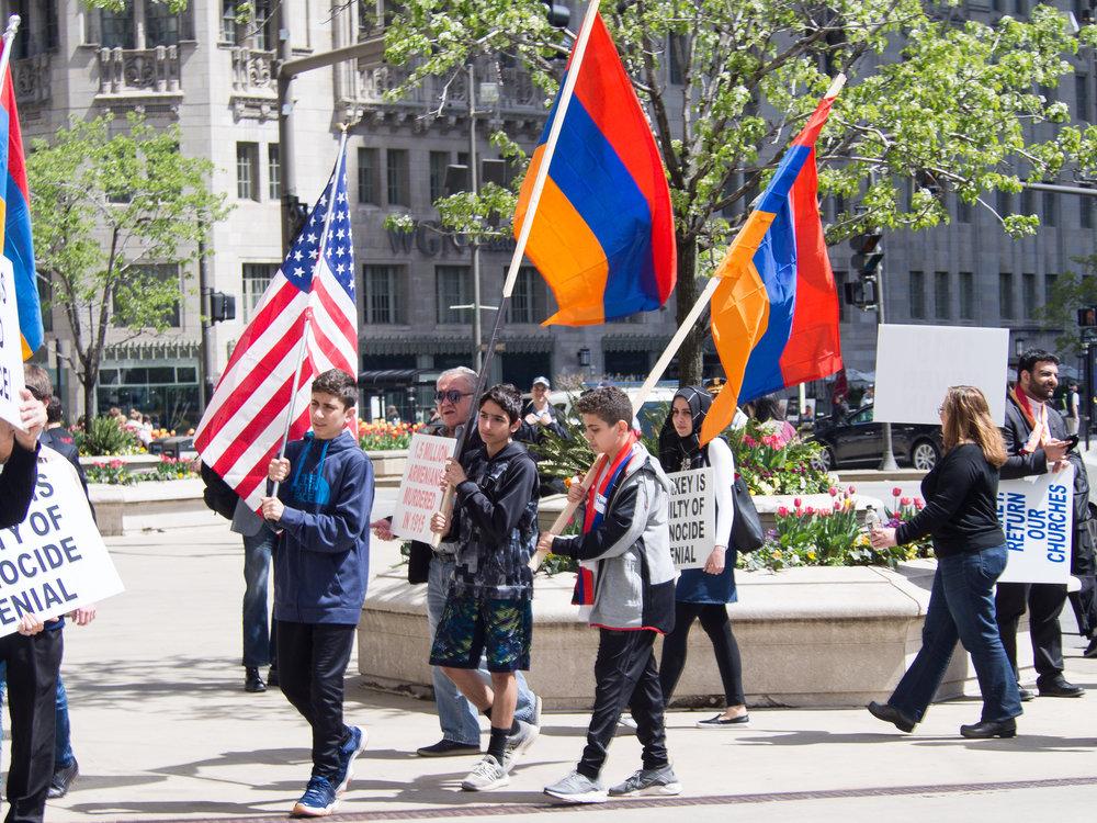 April 24, 2017 Protest Against Genocide Denial