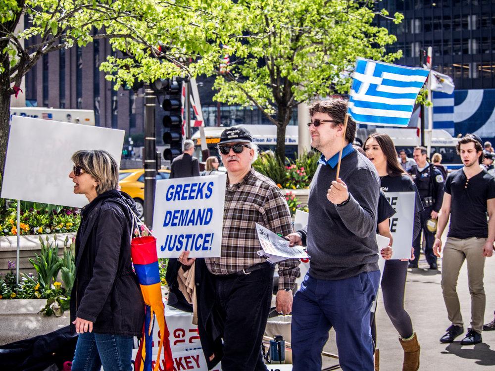 Greeks Demand Justice