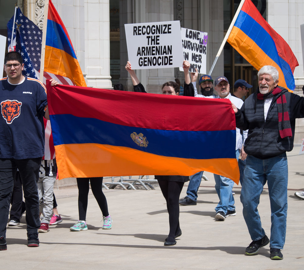American politicians dissimulate, but a majority of American states, along with a growing number of countries across the globe recognize The Genocide, saying the word and hoping to end the violence.