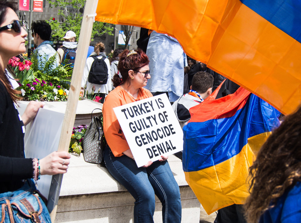 Genocide denial by successive Turkish governments has attempted to erase Armenian history. Instead of acknowledgment and apology, the Turkish government continues to punish Armenians through its blockade and enabling Azerbaijan's attacks on Armenia's sovereign borders.
