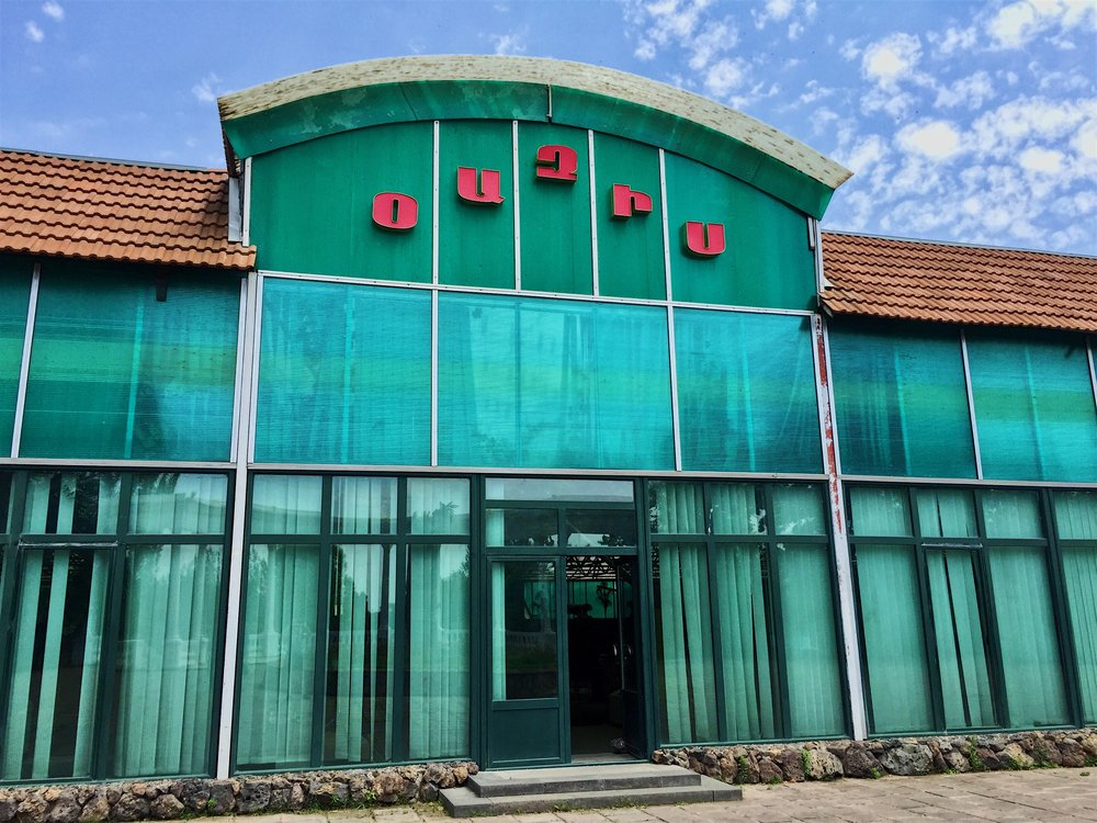 Oasis, Soviet era restaurant