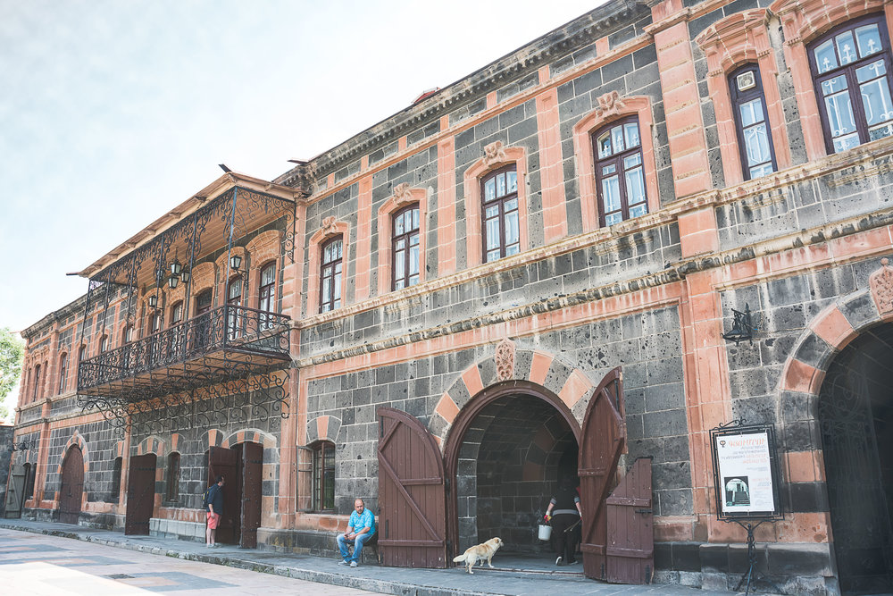 Museum of National Architecture and Urban Life of Gyumri and Merkurov's House Museum