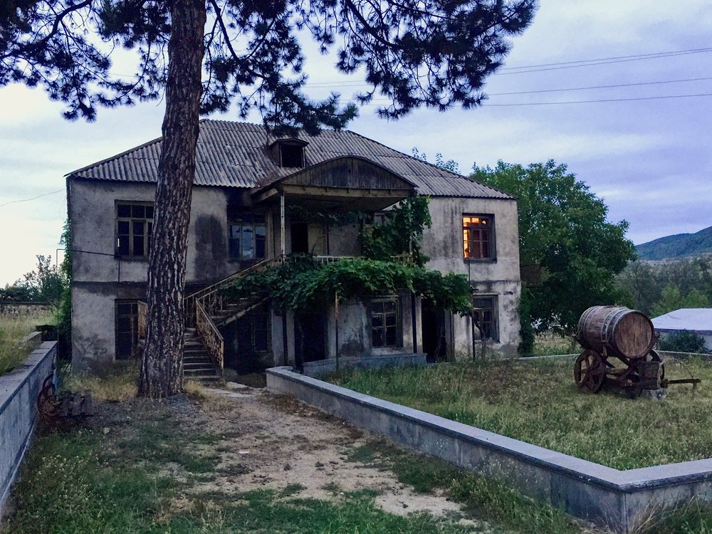Berdavan Winery Guesthouse being restored