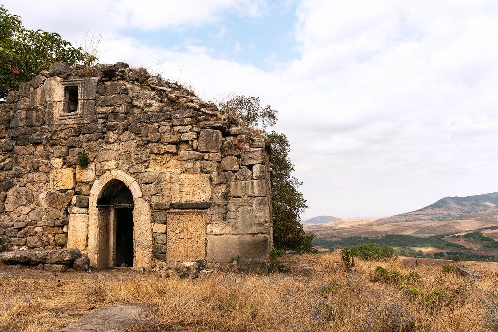 Eighth century church in Togh village